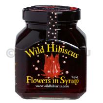Fleurs d'Hibiscus Sauvage au sirop 250gr bocal