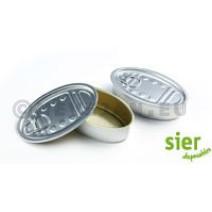 Ova Mini Boite Aluminium 12cl Avec Couvercle 18pc Sier Disposables