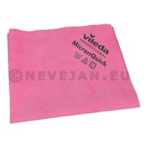 Vileda MicronQuick Lavettes Microfibres 38x40cm rouge 5pc