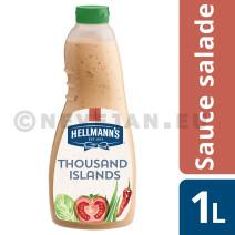 Hellmann's Thousand Island's Dressing 1L sauce salade