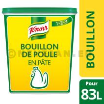 Knorr bouillon de poule en pâte 1.5kg