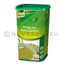 Knorr potage pois au jambon 1.28kg Soupe de tous les Jours