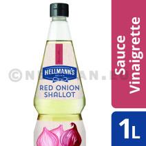 Hellmann's Vinaigrette Echalote Oignon rouge 1L