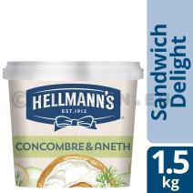 Hellmann's Sandwich Delight Concombre - Aneth 1.5kg