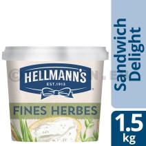 Hellmann's Sandwich Delight fines herbes 1.5kg