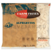 Farm Frites Alphabytes 1kg Surgelées