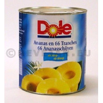 Ananas 66 schijven 3l dole