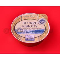 Portions en coupelle Beurre D'Isigny sans sel 48x25gr alu cup