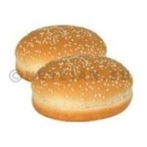 Bicky Hamburger broodjes Sesam 4x8x50gr diepvries