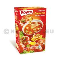 Royco Minute Soupe suprème de tomates 20pc Crunchy