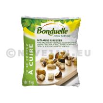 Mélange Forestier 1kg Bonduelle Food Service Surgelés