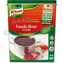 Knorr fond brun en pate 1kg Fonds de Cuisine