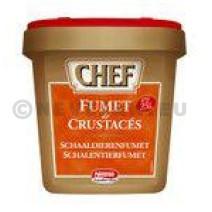Chef fumet de crustacé poudre déshydraté 900gr Nestlé Professional