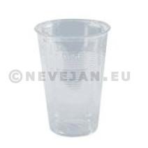 Gobelet en plastique PVC transparante 25cl