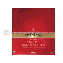 Thé Twinings English Breakfast 100pc