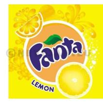 Fanta lemon 24x50cl pet
