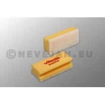 Vileda éponge à récurer Quattro jaune 10pc