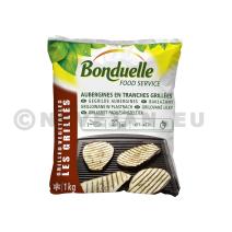 Aubergines en tranches Grillées 1kg IQF Légumes Surgelés Bonduelle Food Service