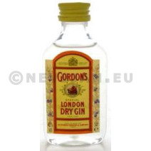 Miniatuur Gin Gordon's 5cl 37.5% London Dry Gin