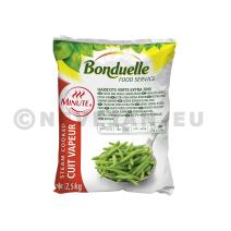 Haricots Verts Extra Fins 2.5kg Bonduelle Minute