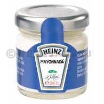 Heinz Mayonnaise Portions en pot verre 33ml