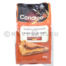 Cassonade de candi brune foncé 2kg Candico