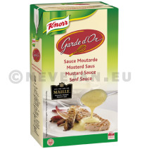 Knorr garde d'or maille mosterdsaus minute 1l br