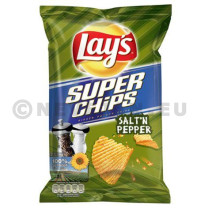 Lays superchips peper & zout 20x45gr