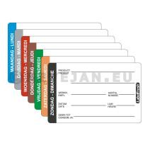 Labelfresh 500 labels Pro 70x45mm lundi