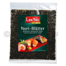 Feuilles d'Algues Sushi Nori 6x18gr Lien Ying