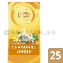 Lipton Thè Camomile Tilleul EXCLUSIVE SELECTION 25pc