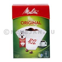 Melitta 102 filtres a cafe en papier 100pc