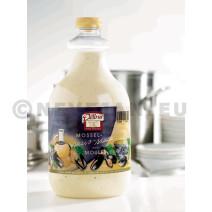 Vinaigrette Moutarde sauce pour moules 2L Delino