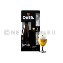 Omer Blond Bier 75cl + 2 glasses (giftpack)