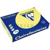 Ramette papier A4 jaune 80gr 500pc Clairefontaine