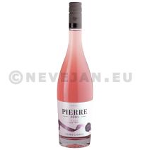 Pierre Zero Merlot Vin rose sans alcool 75cl Domaines Pierre Chavin