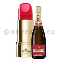 Champagne Piper Heidsieck 75cl Brut Edition Lipstick Emballage Cadeau
