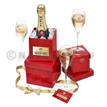Champagne Piper Heidsieck 75cl Brut Grand Present Seau a Glace Coffret Cadeaux
