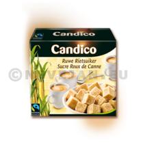 Sucre roux de canne en morceaux 1kg Candico