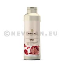 Topping fruits rouges 1L Callebaut bouteille pinçable