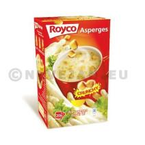 Royco Minute Soupe asperges + croutons 20pc Crunchy
