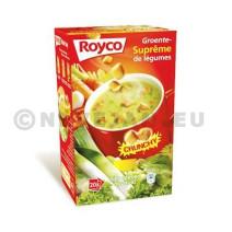 Royco Minute Soupe suprème de légumes 20pc Crunchy