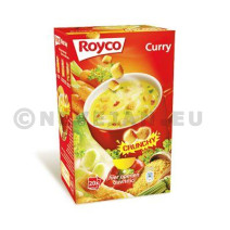 Royco Minute Soupe Curry + croutons 20pc Crunchy
