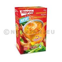 Royco Minute Soupe poulet + vermicelli 20pc Classic