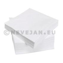 Serviette papier blanc 1 épaisseur 33x33cm 500pc