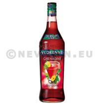 Vedrenne Sirop de Grenadine 1L 0%