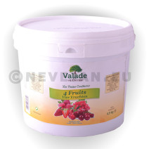 Confiture de quatre fruits 5kg Valade