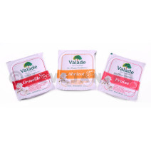 Valade portions individuelles confiture assortiment 180x20gr 35% fruits