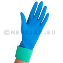 Vileda gants de ménage usage courant large 1paire Comfort & Care Bleu