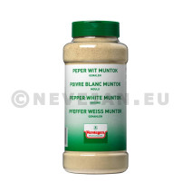 Verstegen Poivre Blanc Muntok Moulue 500gr en pot PET